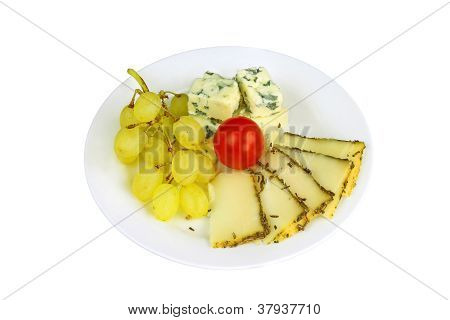 Cheese Nad Grapes