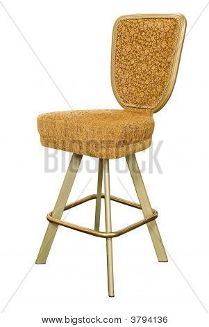 Gold Casino Chair