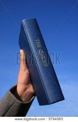 Qur\'An On Blue Sky