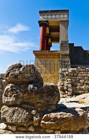 Stones of Knossos palace