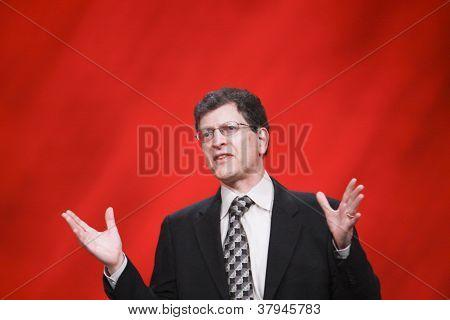 San Francisco, ca, Sept. 30, 2012 Oracle Senior Vize-Präsident Andy Mendelsohn macht Rede bei ora