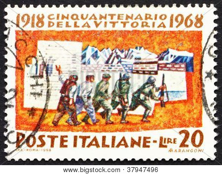 Postage stamp Italy 1968 Mobilization
