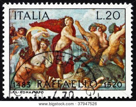 Postage stamp Italy 1970 The Triumph of Galatea, Fresco