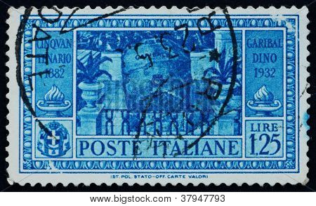 Postage stamp Italy 1932 Garibaldi'sTomb