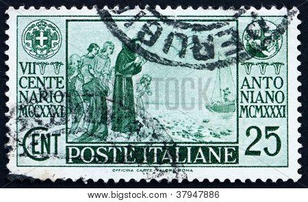Postage stamp Italy 1931 St. Anthony ofPadua