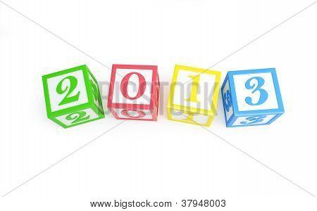 Alphabet Box 2013 Silvester