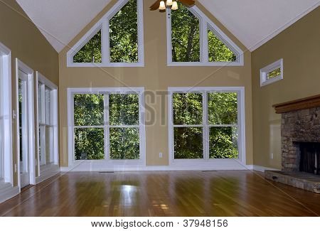 Interior of Newly Remodeled Home