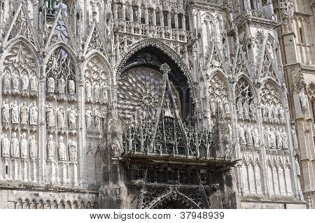 Rouen - Cathedral Facade
