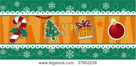 christmas banner decoration