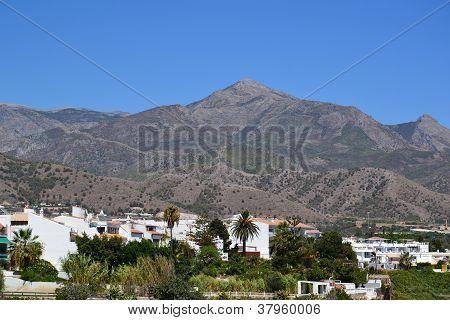 Spanish landscape - Nerja, Costa del Sol