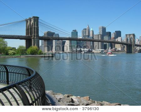 View Of The Skyline In New York