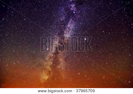 Bright Milky Way