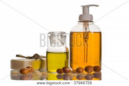 Argan Oil And Cosmetic Product