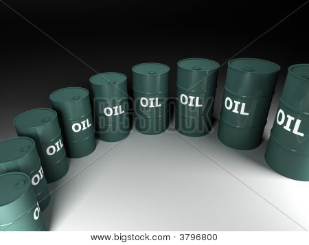 3D Oil Background