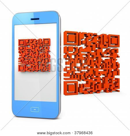 Mobile Phone Scanning Qr-code