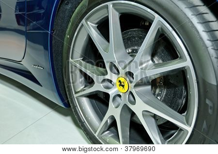 Ferrari California's Wheel