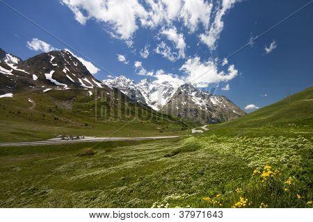 Beautiful landscape (Monetier Les Bains)