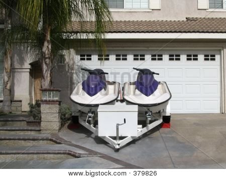 Set Of Jetskis