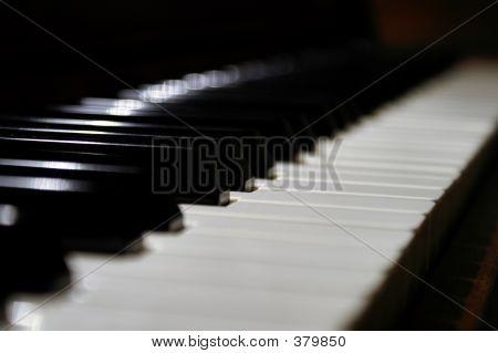 Dazzling Piano Keys