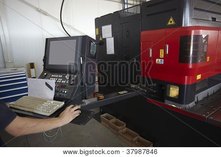 Laser Cutting Aluminum Factory Industry Manufacturing