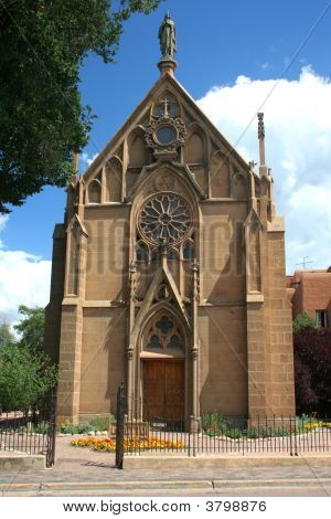 Old Church In Santa Fe