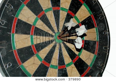 3 Darts In Board