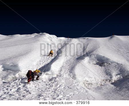 Island Peak Ridge - Nepal
