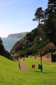 Beer Headland From Seaton