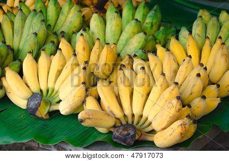 Banana At Market