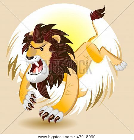 Lion King of Beast