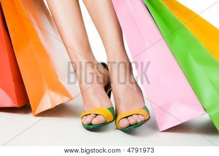 Pernas e sacos