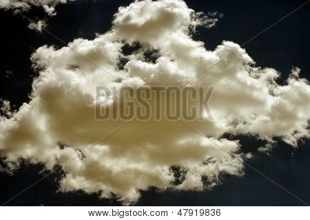 Cloud On Dark Sky.