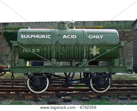 Sulphuric Acid Rail Tanker