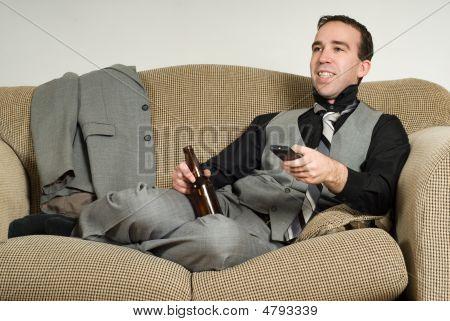 Businessman After Work