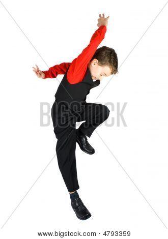 stilvolle kleine Tänzer