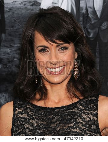 LOS ANGELES - JUL 10:  Constance Zimmer arrives to the 'HBO's