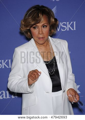 LOS ANGELES - JUN 12:  Diahann Carroll arrives to the Women In Film's 2013 Crystal + Lucy Awards  on June 12,2013 in Beverly Hills, CA