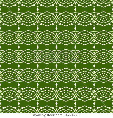 Green Native Pattern