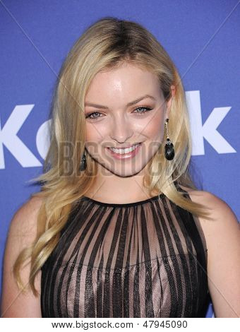 LOS ANGELES - JUN 12:  Francesca Eastwood arrives to the Women In Film's 2013 Crystal + Lucy Awards  on June 12,2013 in Beverly Hills, CA