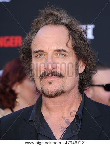 LOS ANGELES - JUN 22:  Kim Coates arrives to the 'The Lone Ranger' Hollywood Premiere  on June 22, 2013 in Hollywood, CA