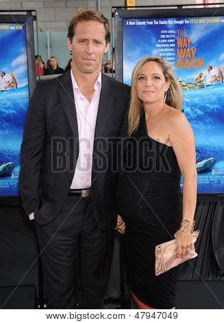 LOS ANGELES - JUN 23:  Nat Faxon & Meaghan Gadd arrives to the