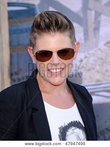 LOS ANGELES - JUN 22:  Natalie Maines arrives to the 'The Lone Ranger' Hollywood Premiere  on June 22, 2013 in Hollywood, CA