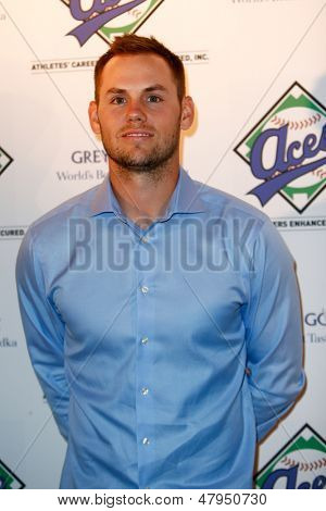 NEW YORK-JULY 14: Arizona Diamondbacks shortstop Chris Owings attends the Aces, Inc. All Star party at Marquee on July 14, 2013 in New York City.