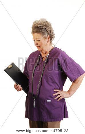 Senior Nurse.