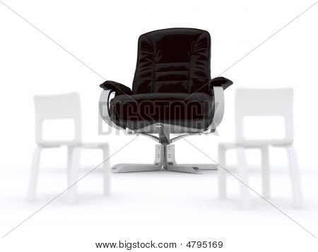 Armchair And Chairs