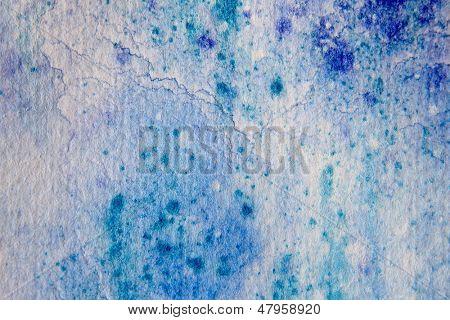 Blue Watercolour Textures 6