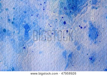 Blue Watercolour Textures 1