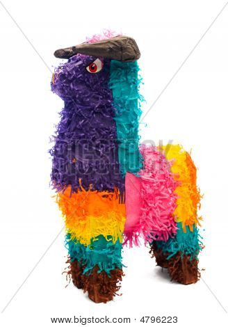 Multi-colored Pinata Horse