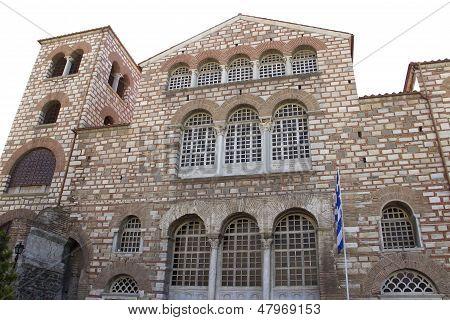 Saint Dimitrios Christian Orthodox Church In Thessaloniki