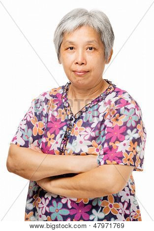 Middleage chinese woman